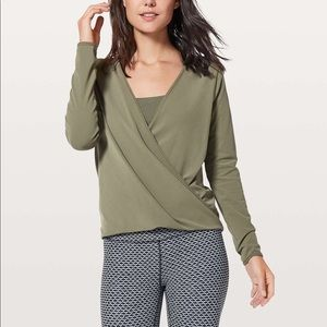Lululemon Hunter Green Freedom Top